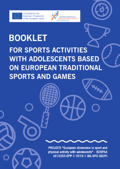 Booklet for sports activities with adolescents based on European traditional sports and games